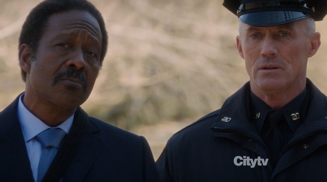 Alonzo Quinn (Clarke Peters) & Patrick Simmons (Robert John Burke) - Person of Interest