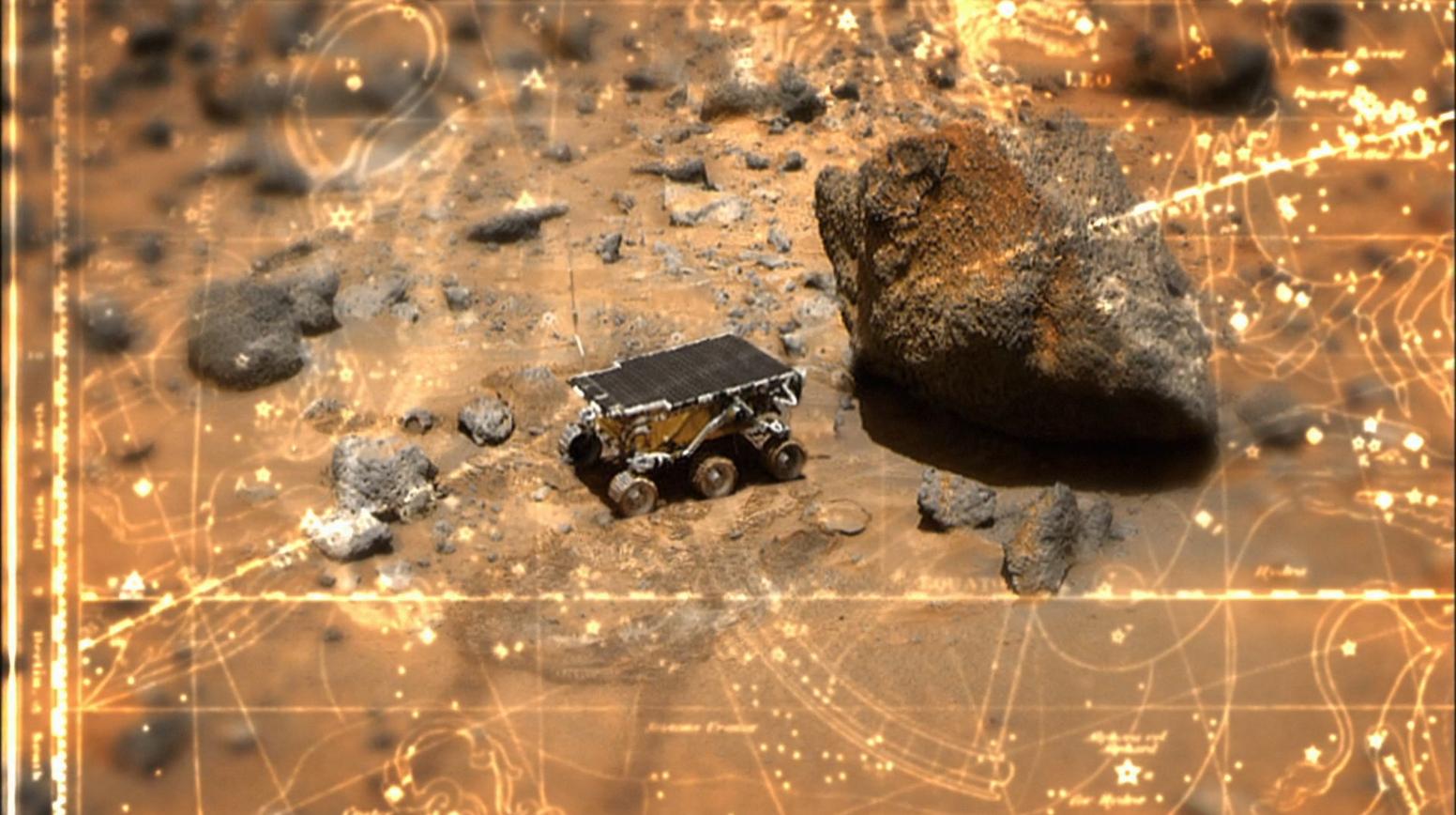 Mars Sojourner in Enterprise opening - Vox Sola Enterprise Star Trek Enterprise Season 1 Blu-ray Review