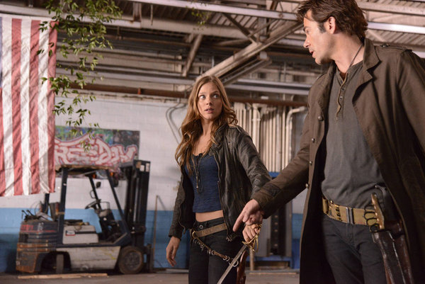 Tracy Spiridakos as Charlie Matheson, Billy Burke as Miles Matheson 'The Song Remains The Same'