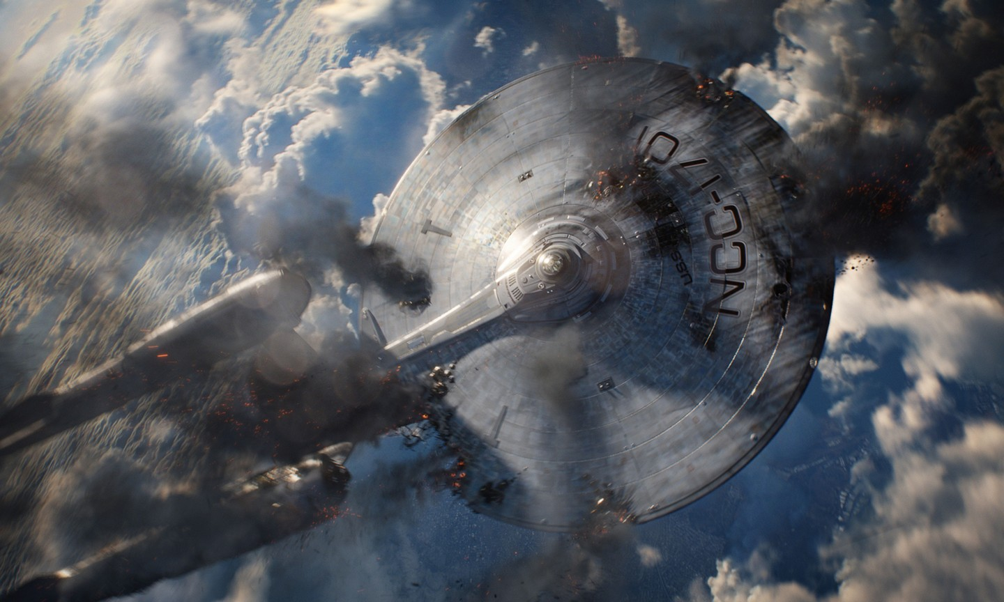Enterprise in Star Trek Into Darkness