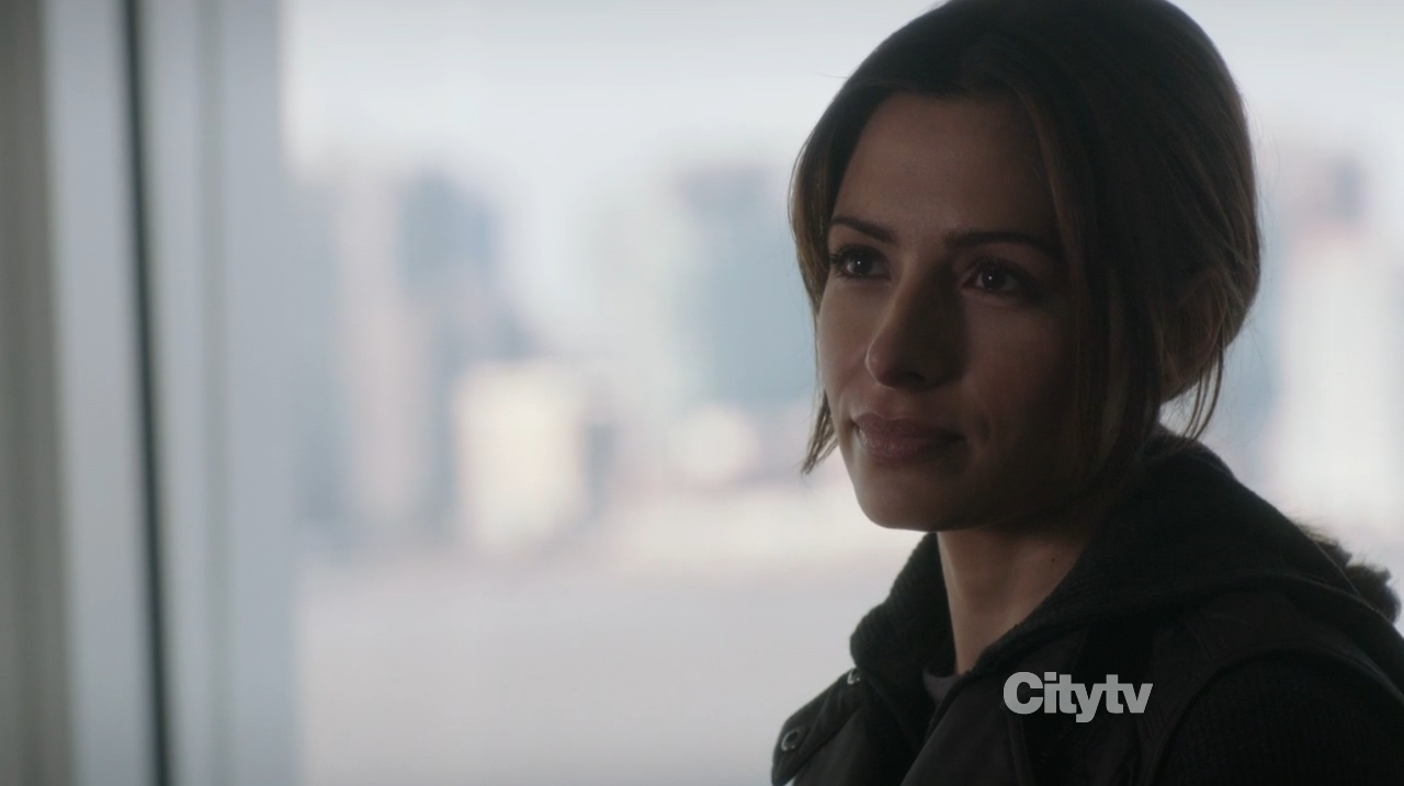 Sarah Shahi as Samantha Shaw - Person of Interest - Zero Day