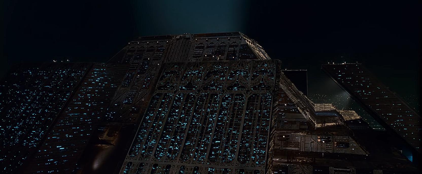 Tyrell Pyramid Blade Runner