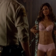 Salli Richardson Pink Lingerie - Eureka - Purple Haze