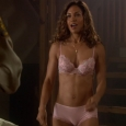 Salli Richardson pink Panties and Bra - Eureka - Purple Haze