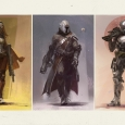 The Guardians in Destiny - you can play as the Titan, hunter and Warlock In Bungie's Destiny MMO