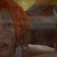 leeloo in the taxi cab - The Fifth Element