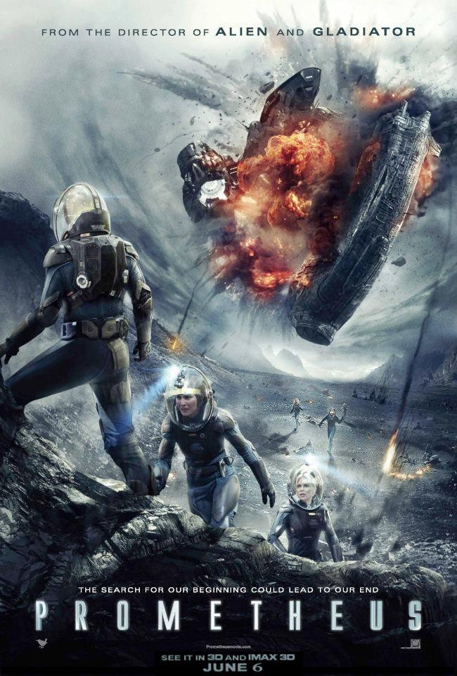 prometheus - european poster