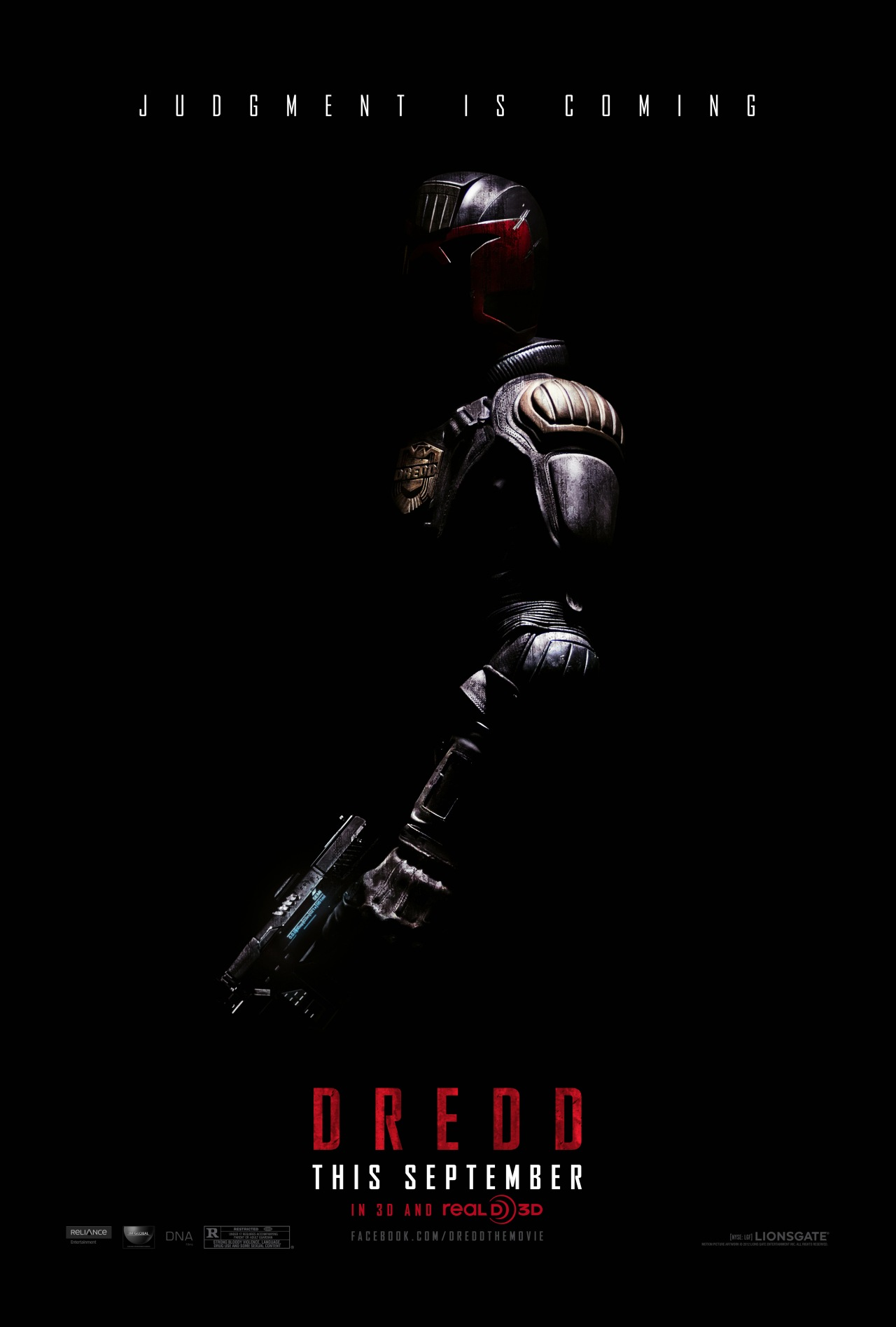 Judge Dredd Poster - Karl Urban