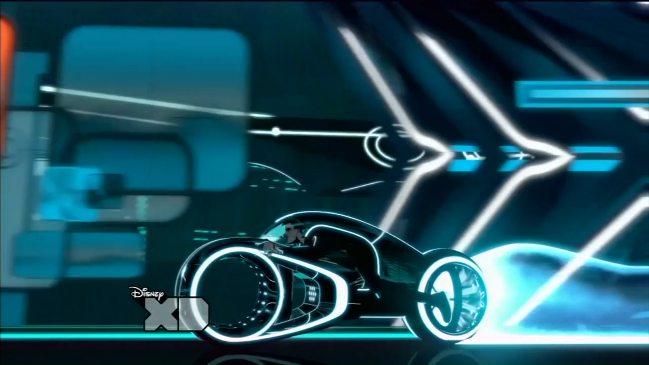 Tron Uprising - Light cycle