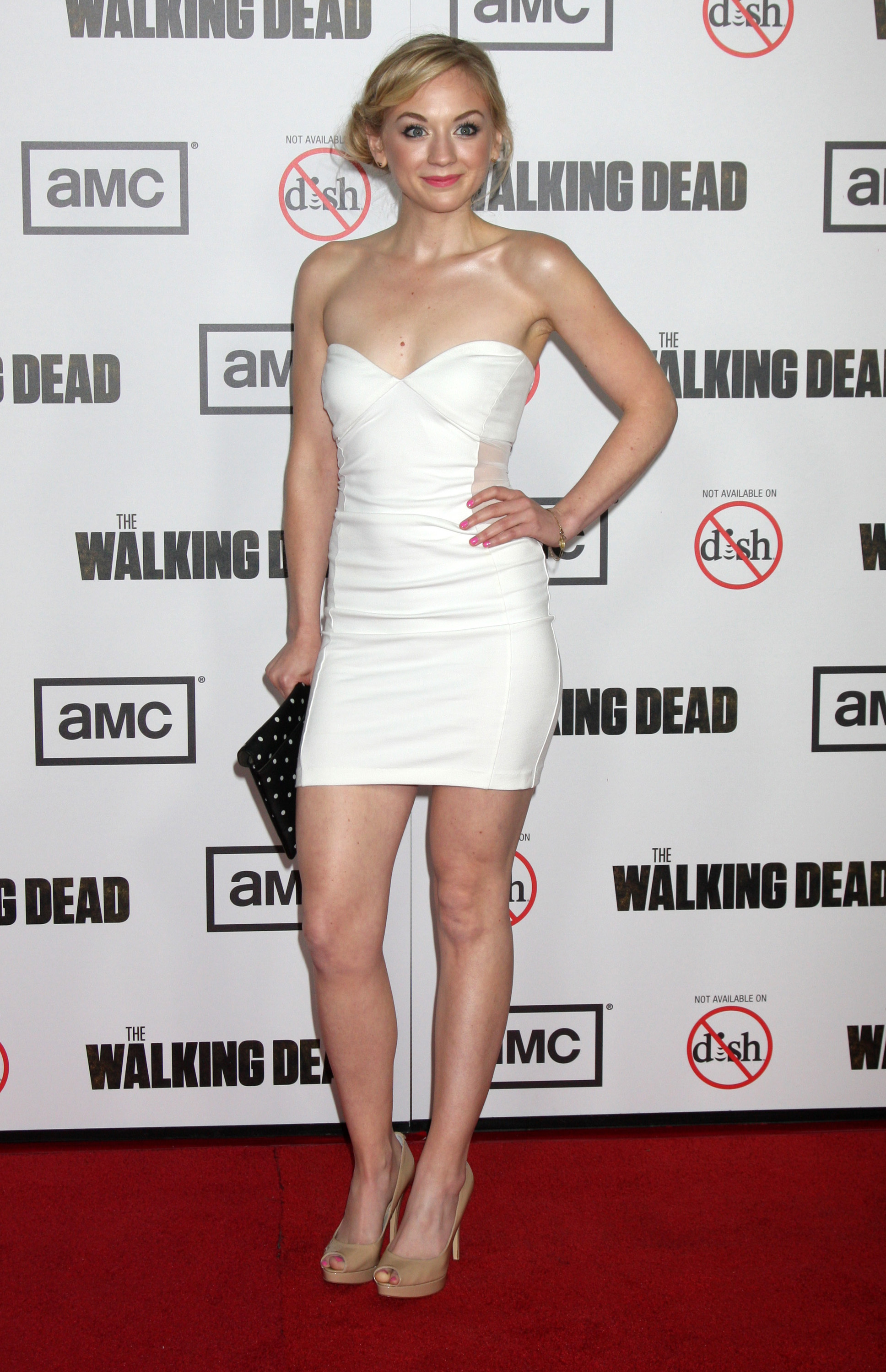 Emily Kinney hot - The Walking Dead