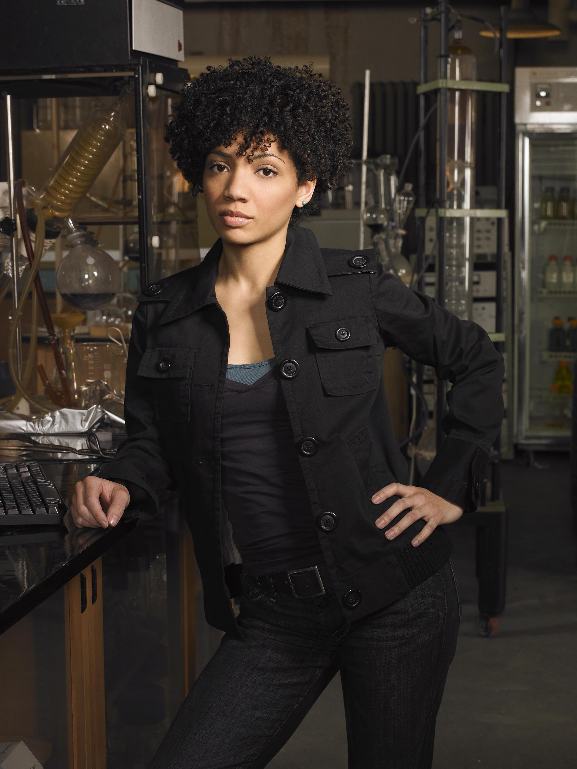 FRINGE: When an unlikely trio uncovers a deadly mystery that involves a series of unbelievable events, they discover it may be part of a larger, more disturbing pattern that blurs the line between science fiction and technology on FRINGE airing Tuesdays (9:00-10:00 PM ET/PT) this fall on FOX. Pictured: Jaskia Nicole as Astrid ©2008 Fox Broadcasting Co. Cr: Michael Lavine/FOX