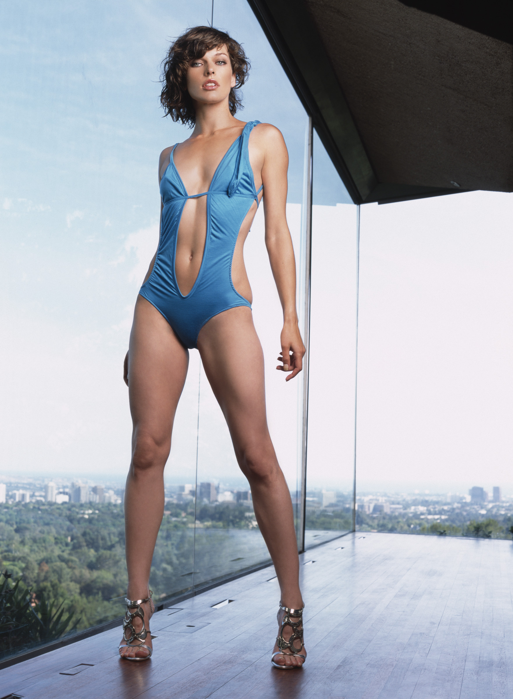 ca. 2004 --- Milla Jovovich --- Image by © Antoine Verglas/Corbis Outline