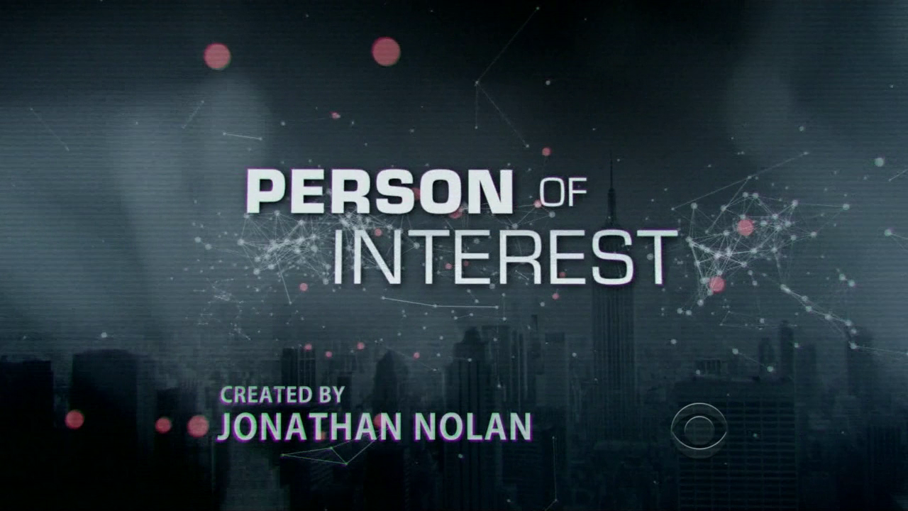 Person of Interest Logo - Jonathan Nolan starring Jim Caviezel & Michael Emerson