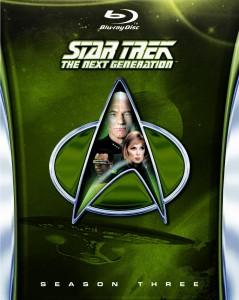 Star Trek The Next Generation Season 3 Blu-ray cover