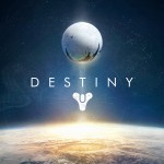 This is the poster for Destiny, a first person shooter by Bungie, Inc.