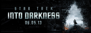 Star Trek Into Darkness May 9th banner