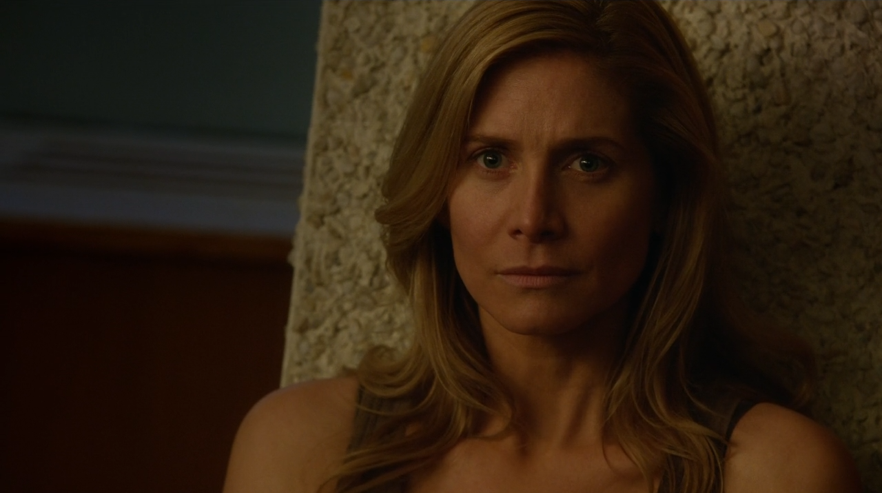 Elizabeth Mitchell as Rachel Matheson talking to Monroe - Revolution