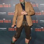 Robert Downey Jr Iron Man 3 Premiere