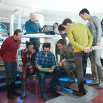 Star Trek Into Darkness on set cast