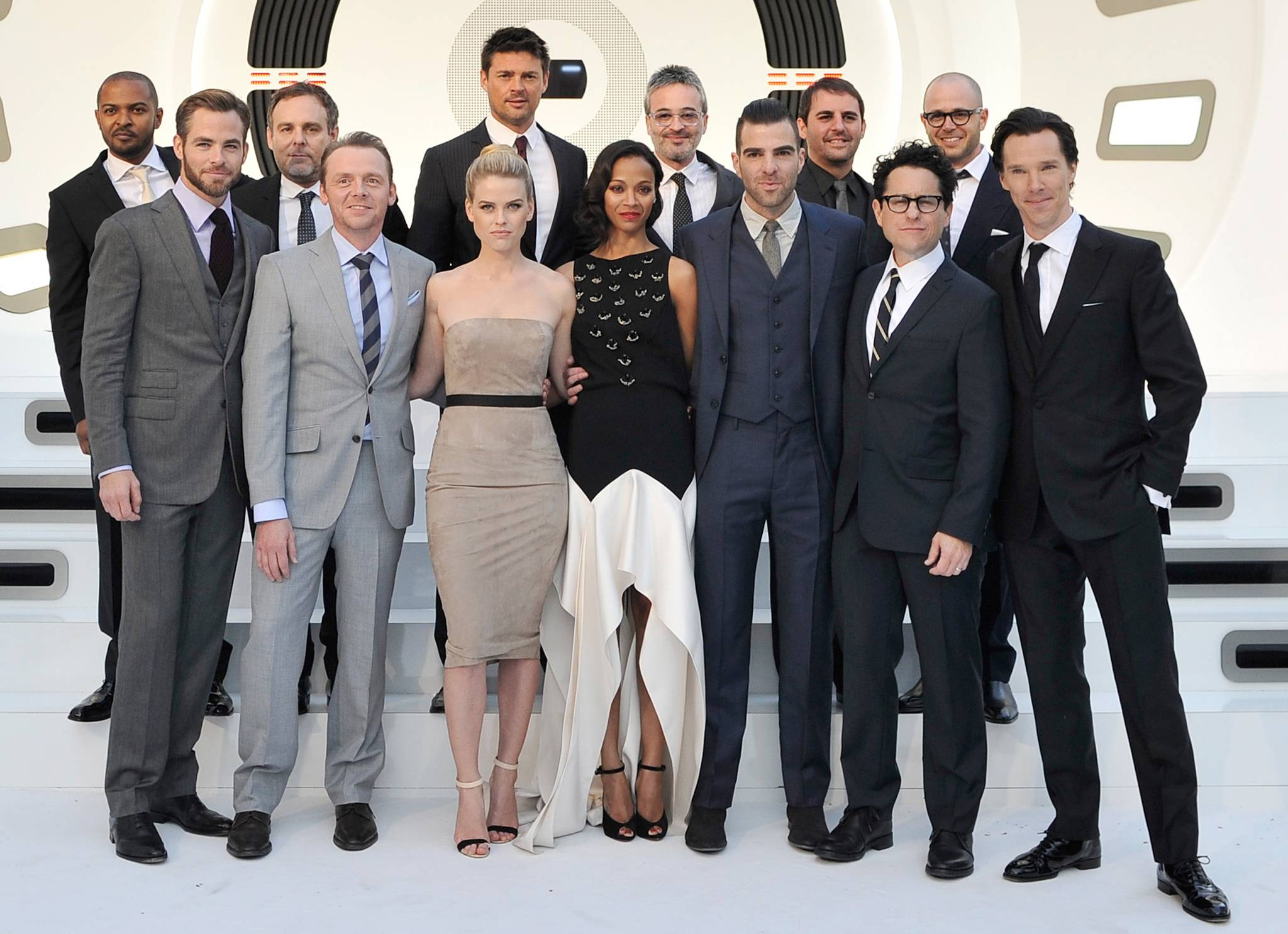Star Trek Into Darkness premiere cast
