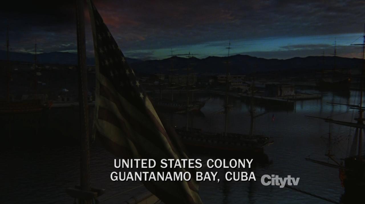Revolution finale - United states colony guantanomo bay Bush