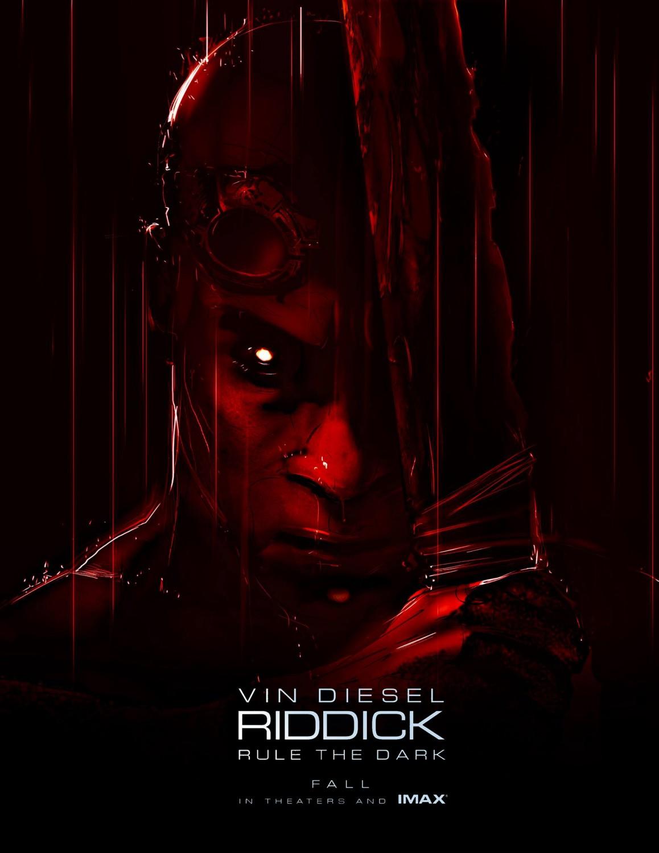 Riddick 2013 Comic-con poster
