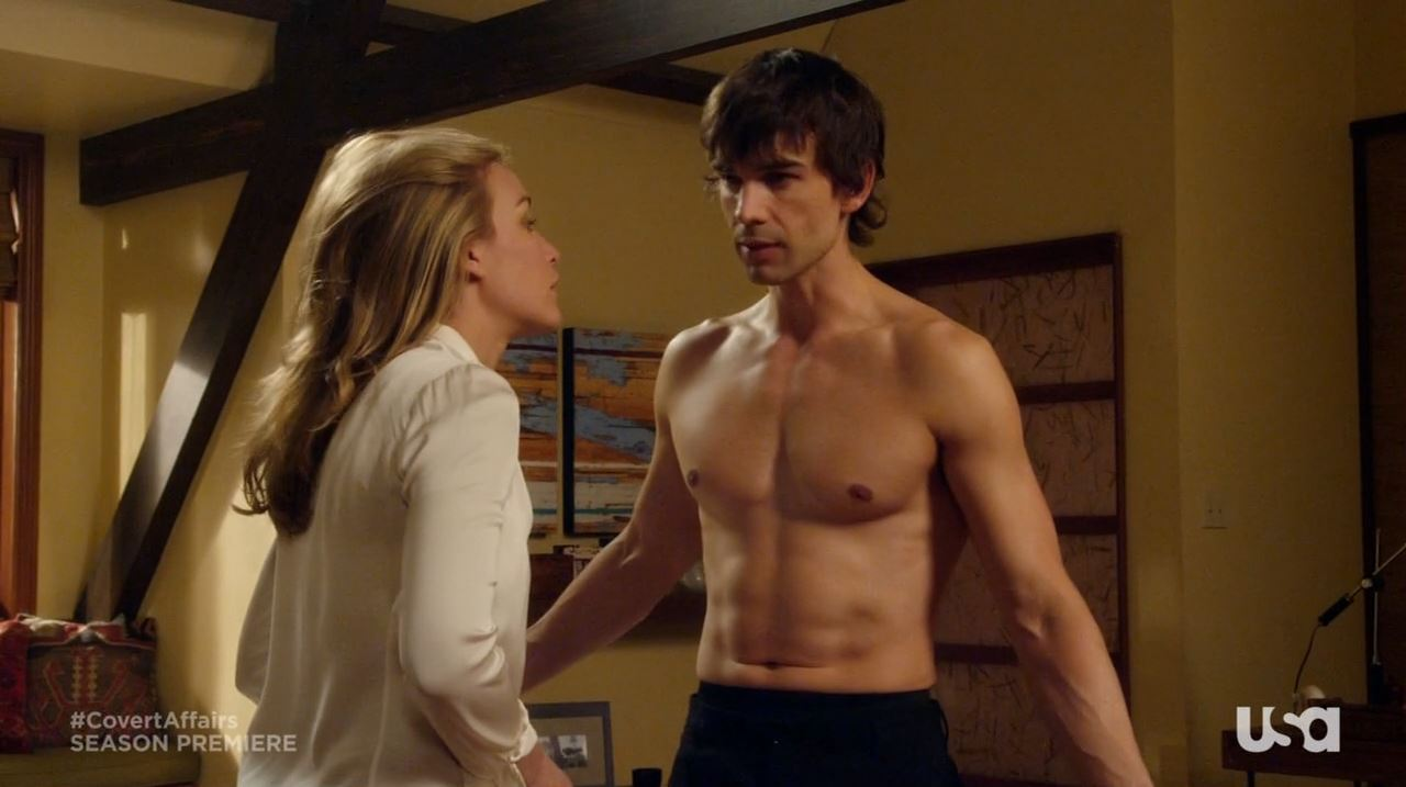 Auggie and Annie - Covert Affairs season 4 Vamos