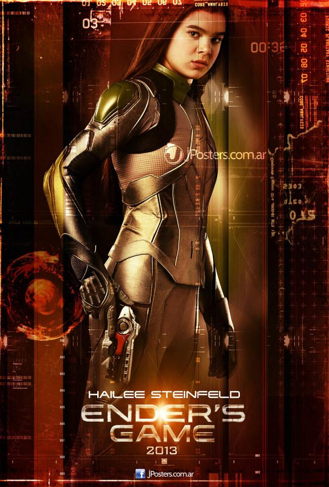 Hailee Steinfeld in Ender's Game poster