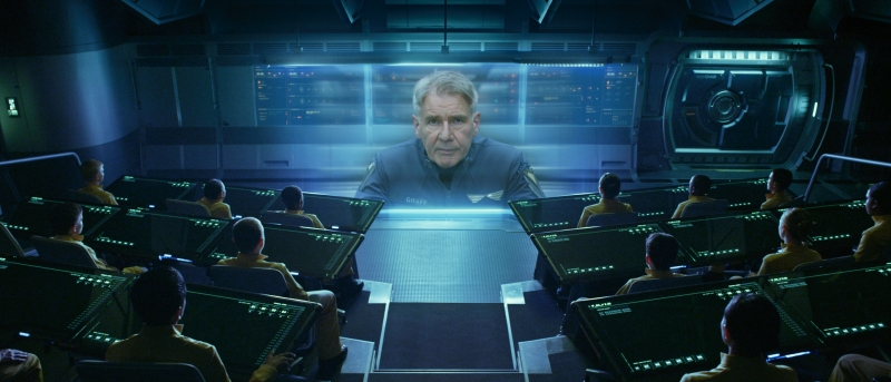 Harrison Ford as Colonel Graff - Ender's Game