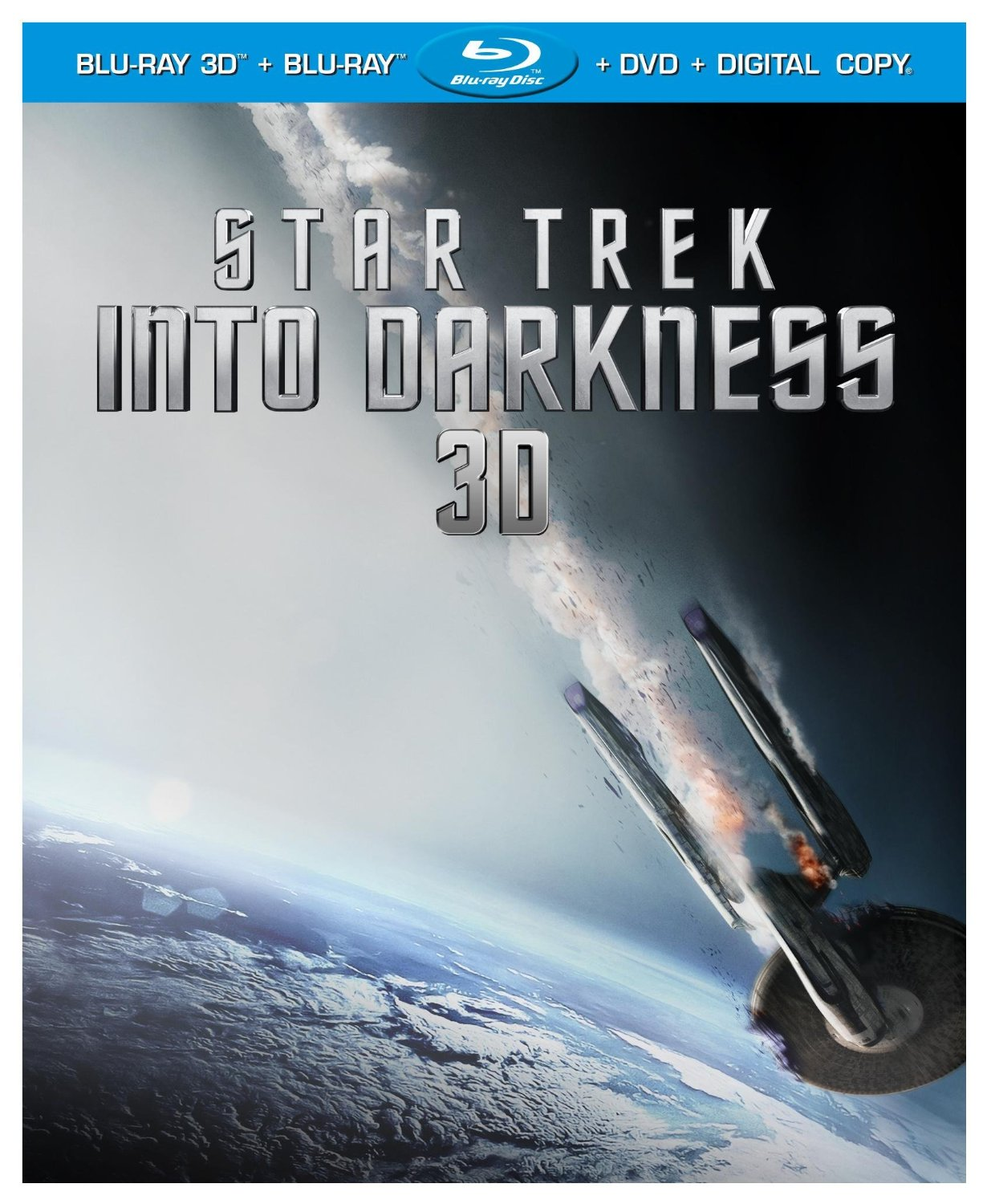 Star Trek Into Darkness (Blu-ray 3D + Blu-ray + DVD + Digital Copy) Star Trek Into Darkness Blu-ray out September 10th
