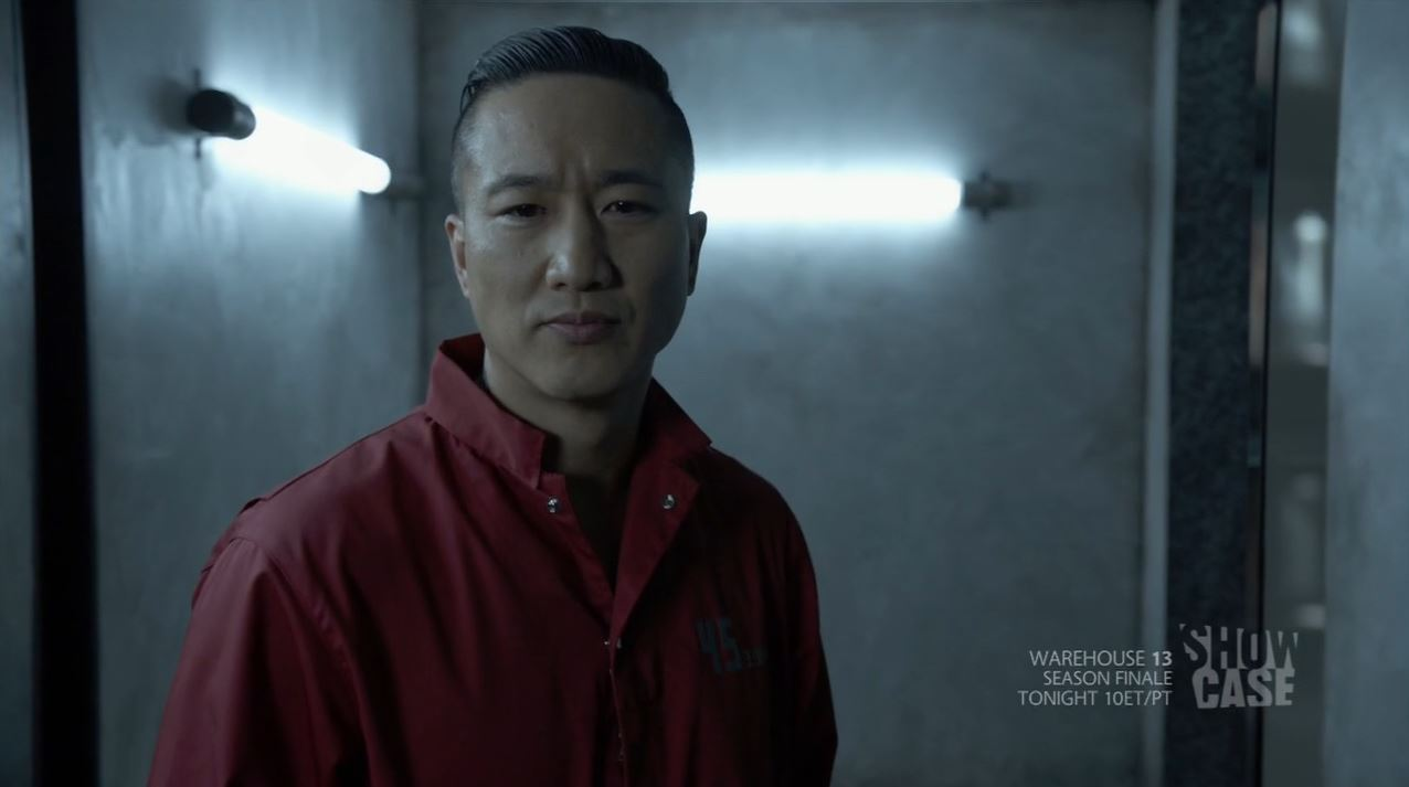 Terry Chen as Curtis Chen (Liber8) - Continuum Second Wave