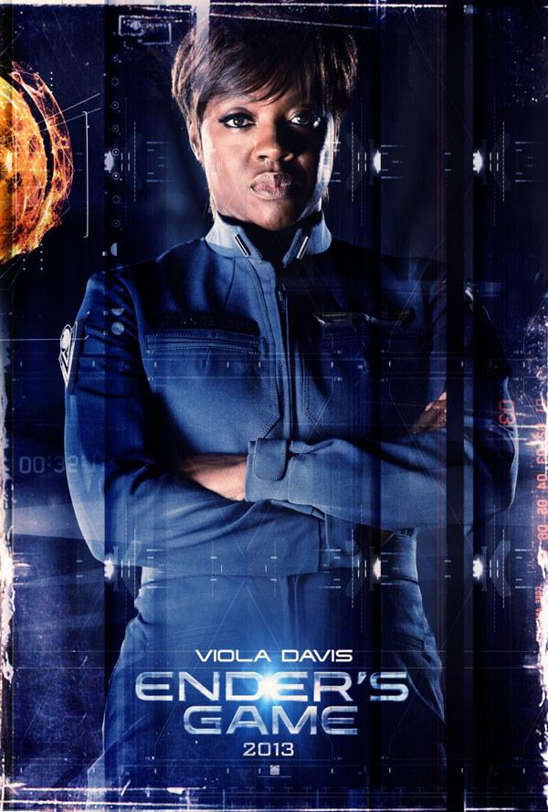 Viola Davis in Ender's Game poster