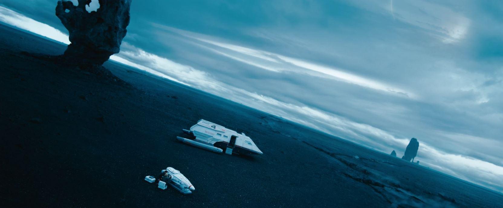Star Trek Into Darkness - disarming a torpedo