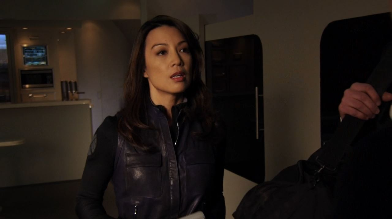 Ming-Na Wen as Melinda May - Agents of Shield