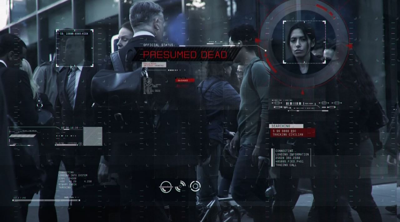 Sarah Shahi in Person of Interest opening sequence - Person of Interest