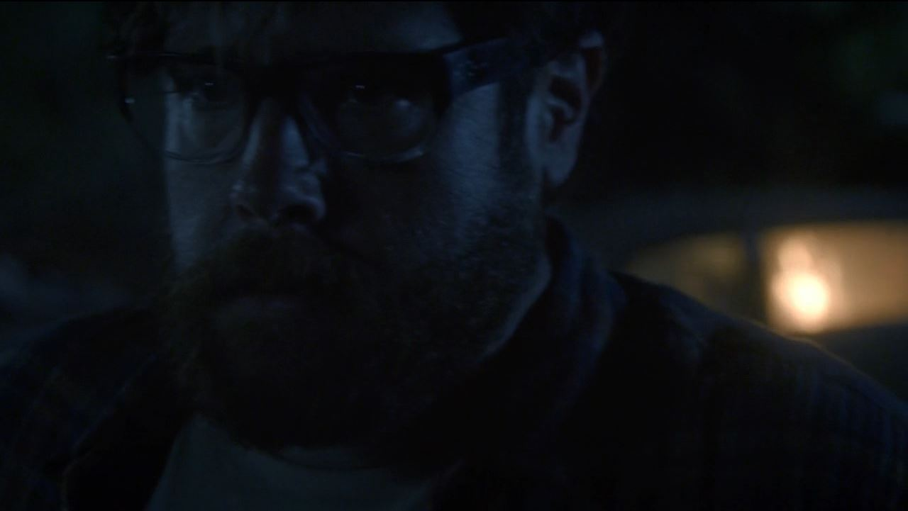 Aaron (Zak Orth) sets the car on fire - Revolution
