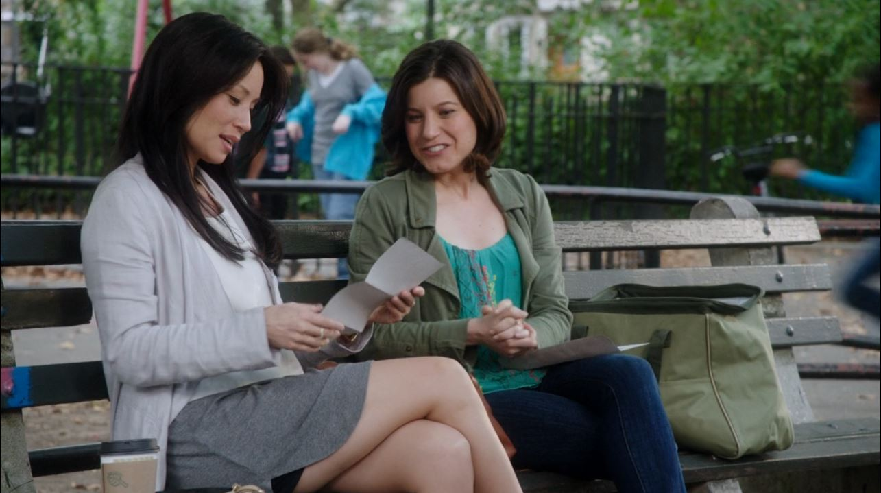Lucy Liu as Joan Watson in Elementary - Lucy Liu long legs