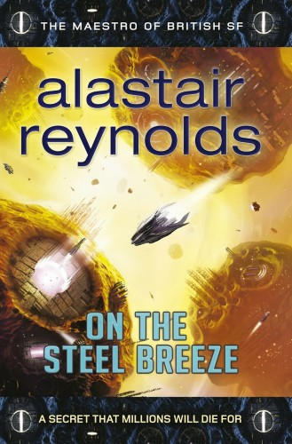 On the Steel Breeze by Alasair Reynolds cover