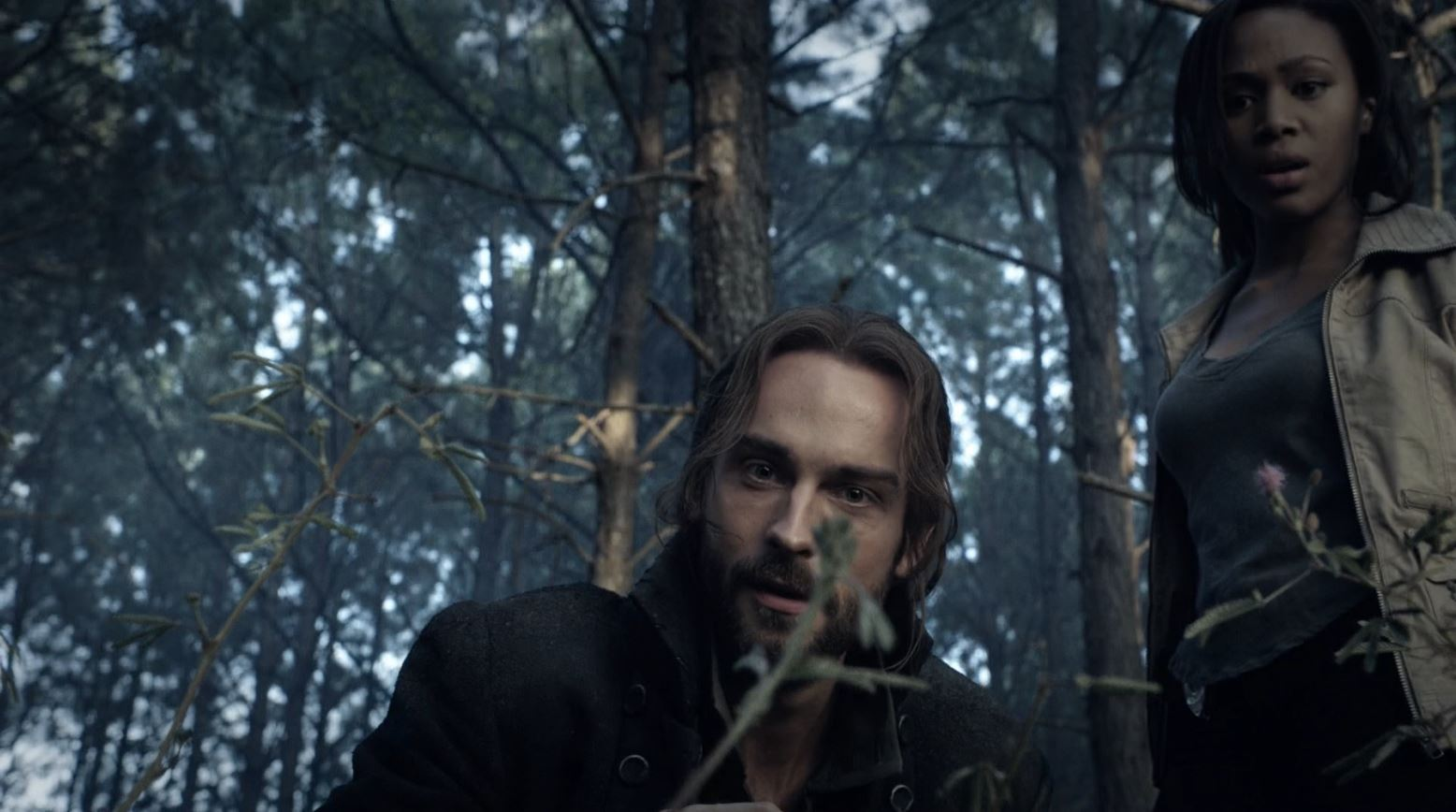 Sleepy Hollow - Tom Mison as Ichabod Crane & Nicole Beharie as Abbie Mills
