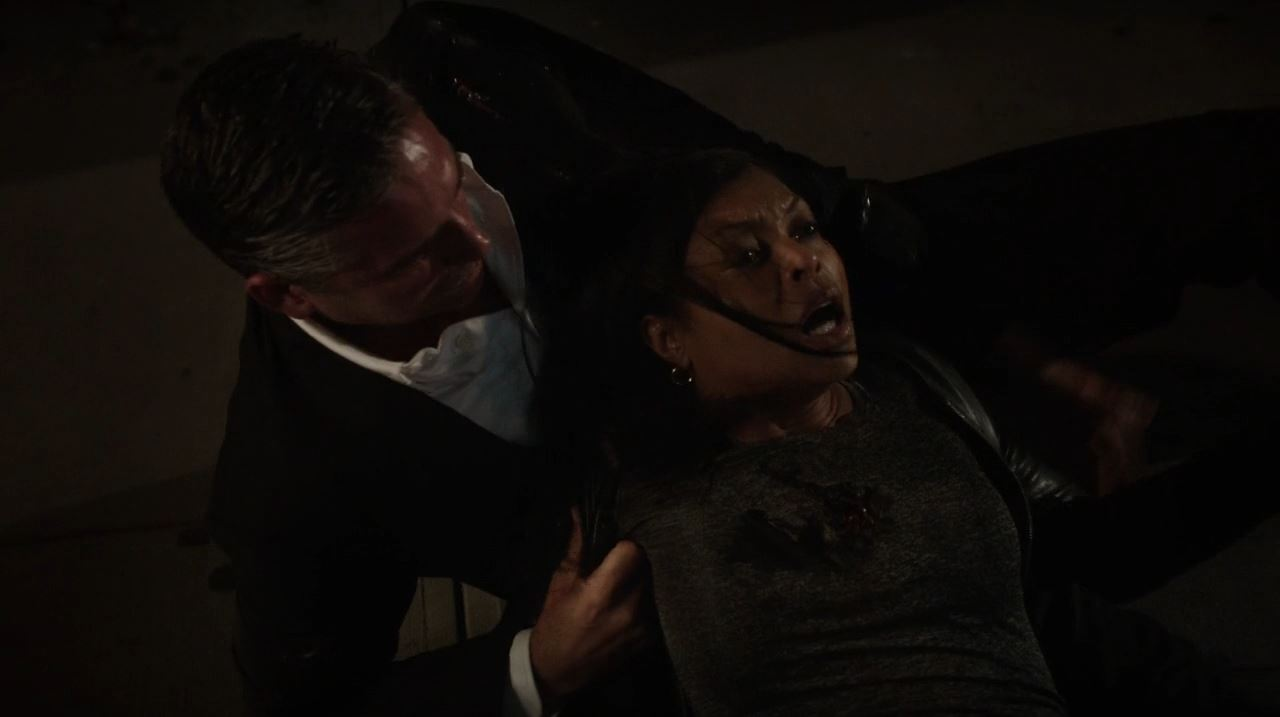 Person of Interest - Mr Reese with a dying Carter