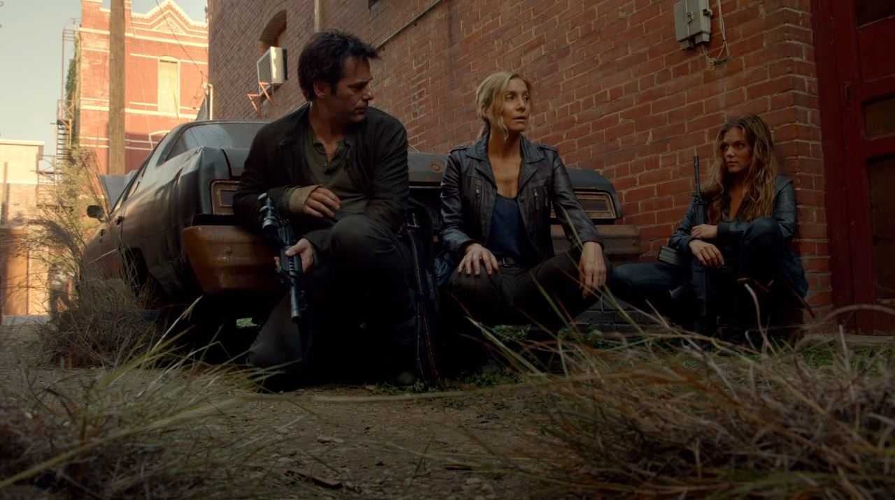 Revolution - Miles, Rachel and Charlie planning to free Aaron