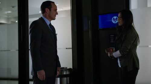 Chloe Bennett Agents Shield
