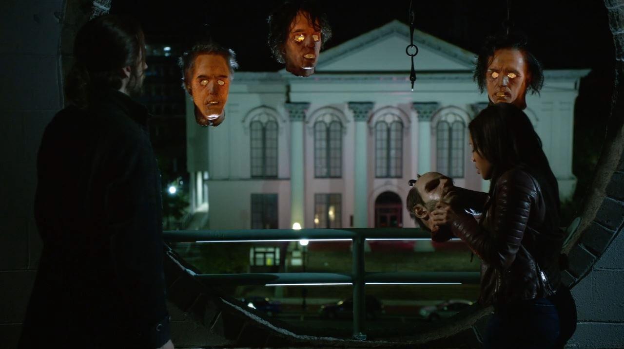 Sleepy Hollow - Freemason head lanterns - Abbie and Ichabod