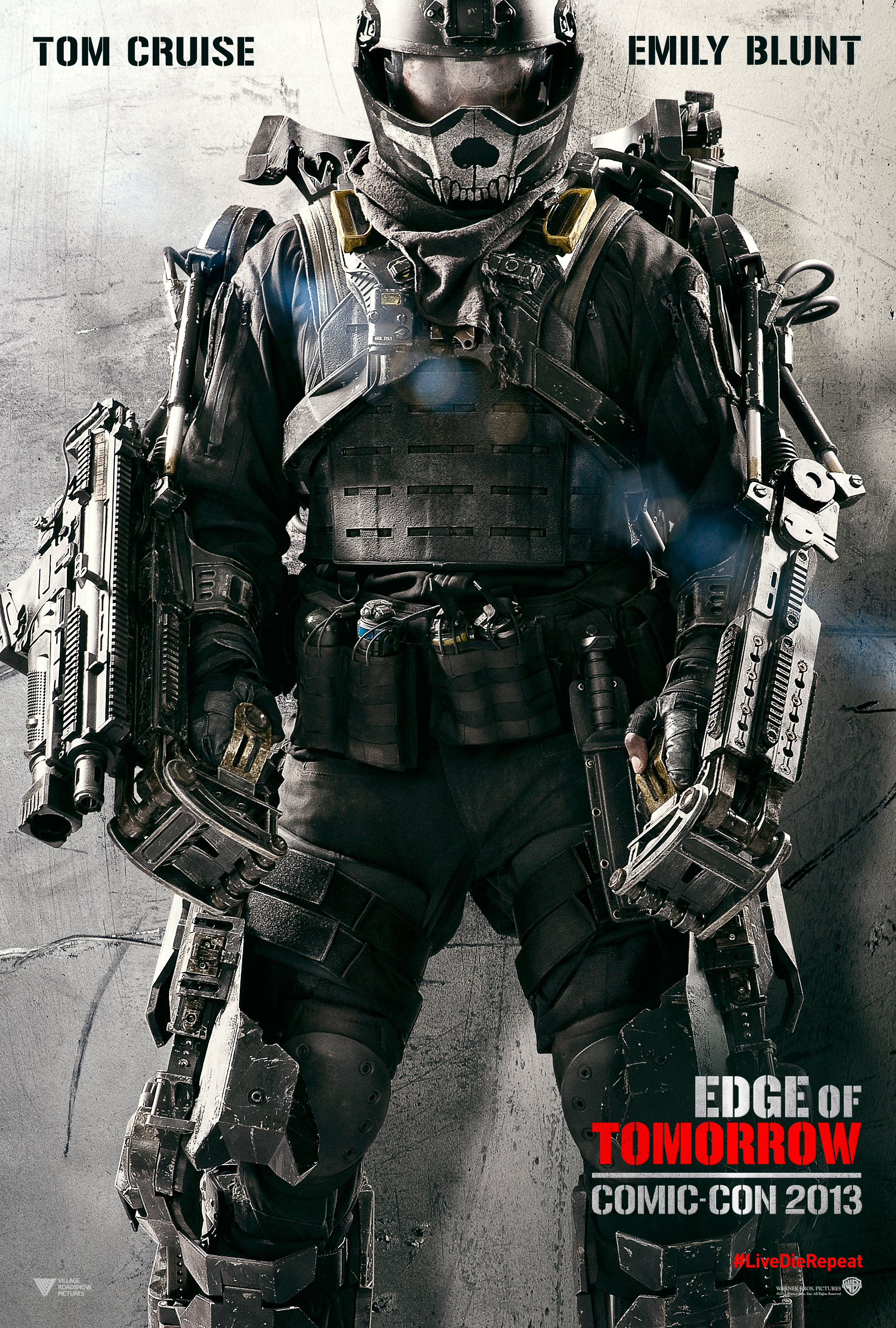 Edge of Tomorrow poster - starring Tom Cruise and Emily Blunt