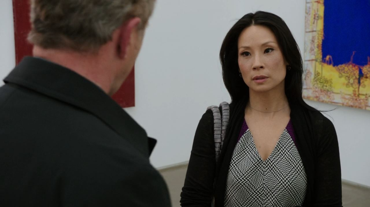 Elementary - Internal Audit - Watson (Lucy Lui) in the art gallery