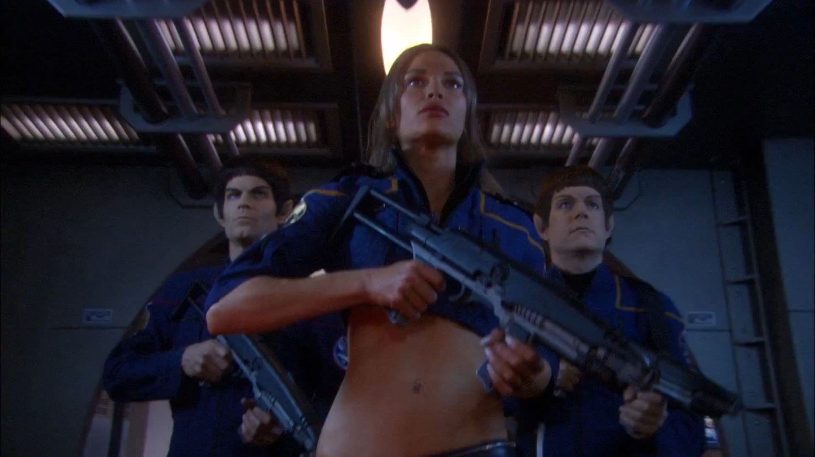 Enterprise season 4 - Jolene Blalock as T'Pol in mirror universe