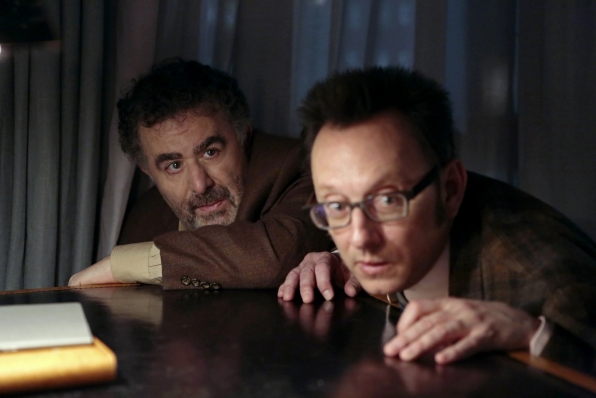 Person of Interest - Lethe - Mr. Finch and Mr. Claypool