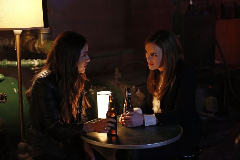 Agents of SHIELD - Seeds - Skye and Simmons