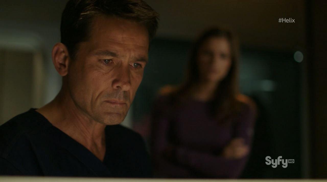 Helix - Pilot - Billy Campbell as Dr. Alan Farragut