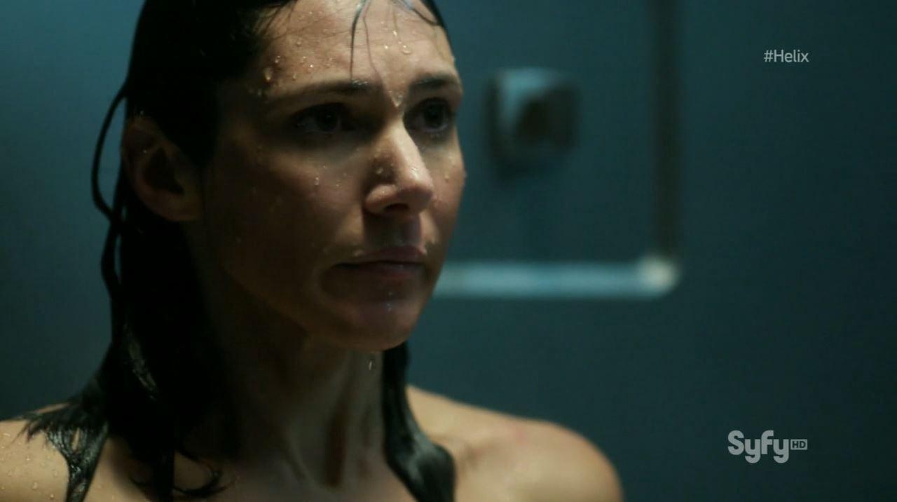 Helix - Vector - Kyra Zagorsky nude as Dr. Walker